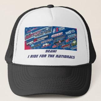 国民のBmxの競争チームトラック運転手の帽子 キャップ