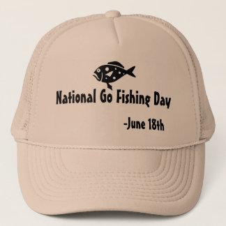 国民は日魚釣り行きます キャップ