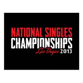 国民は選手権ラスベガス2013年を選抜します ポストカード