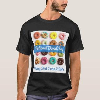 国民ドーナツ日米国 Tシャツ