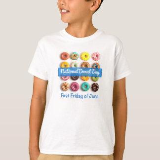 国民ドーナツ日 Tシャツ