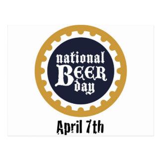 国民ビール日 ポストカード
