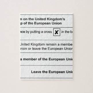 国民投票はEUに残ります ジグソーパズル
