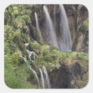 国民Velikiの非難(滝)のPlitvice湖 スクエアシール
