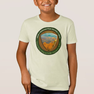 国立公園の百年間のTシャツのグランドキャニオンの子供 Tシャツ
