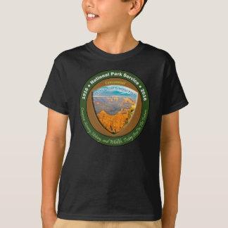国立公園の百年間のTシャツのグランドキャニオン Tシャツ