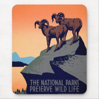 国立公園 マウスパッド