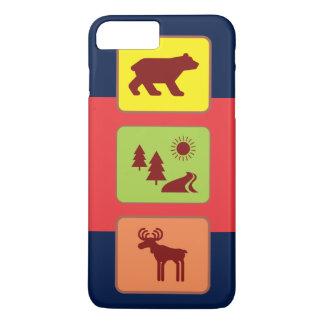 国立公園 iPhone 8 PLUS/7 PLUSケース