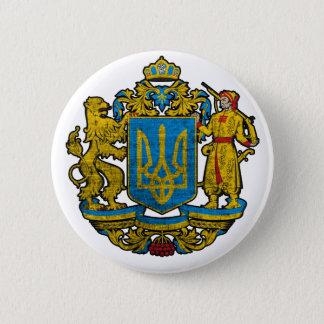 国章ウクライナ 缶バッジ