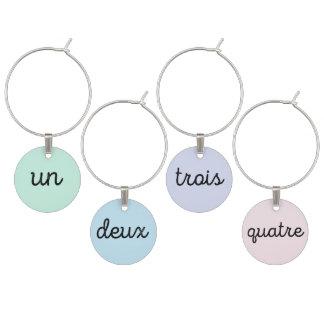 国連Deux Troisフランス人のワインチャーム ワインチャーム