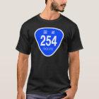 国道254 号線ー国道標識 Tシャツ