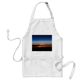 国際宇宙局から見られる日没 スタンダードエプロン