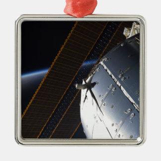 国際宇宙局の部分 メタルオーナメント