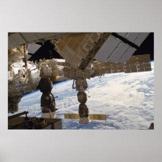 国際宇宙局及びロシア語Soyuz ポスター