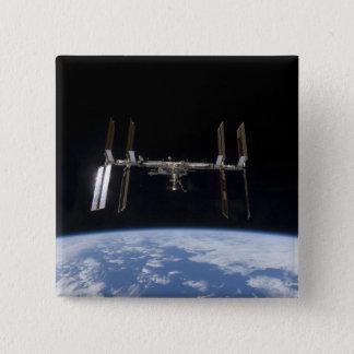 国際宇宙局9 5.1CM 正方形バッジ