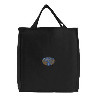 国際宇宙局 刺繍入りトートバッグ
