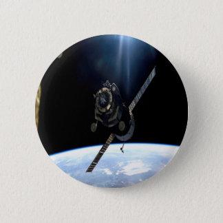 国際宇宙局ISS NASAの大気および宇宙空間 5.7CM 丸型バッジ