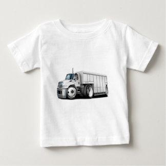 国際的で白い配達用トラック ベビーTシャツ