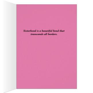 国際的な姉妹関係 カード