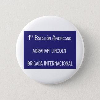 国際的な組エイブラハム・リンカーン第1 5.7CM 丸型バッジ