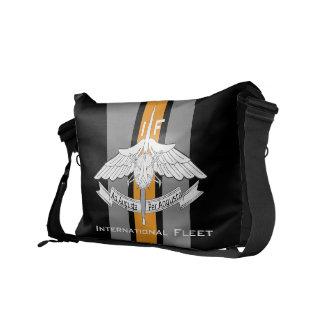 国際的な艦隊かドラゴンの軍隊 メッセンジャーバッグ