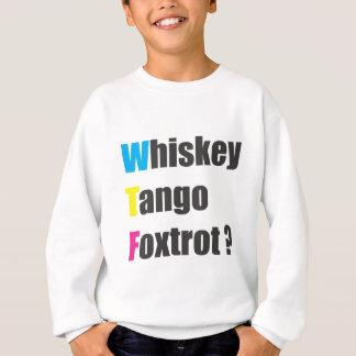 国際的なwtf スウェットシャツ