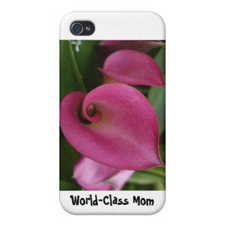国際的レベルのお母さん- iPhone 4のための堅い薬莢 iPhone 4/4S Case