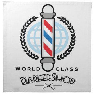 国際的レベルの理髪店 ナプキンクロス