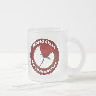 国際的レベルの祖母の母の日のギフト フロストグラスマグカップ