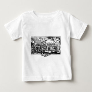 国 ベビーTシャツ