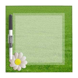 国DRYERASEBOARDの新しい芝生のデイジー ホワイトボード