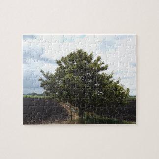 圃場の木 ジグソーパズル