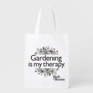 園芸は私のセラピーです エコバッグ
