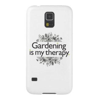 園芸は私のセラピーです GALAXY S5 ケース