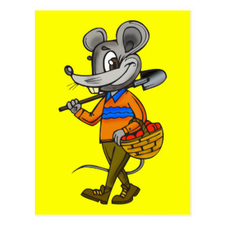 園芸マウス ポストカード