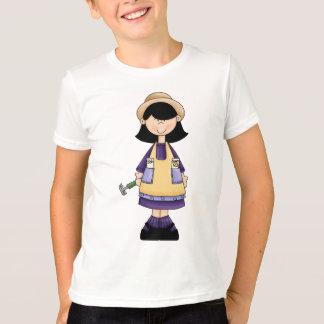 園芸女の子3 Tシャツ