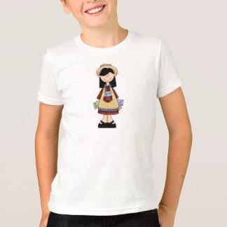園芸女の子5 Tシャツ