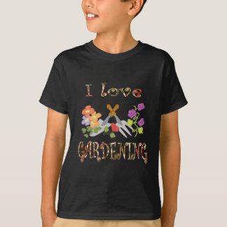 園芸愛 Tシャツ