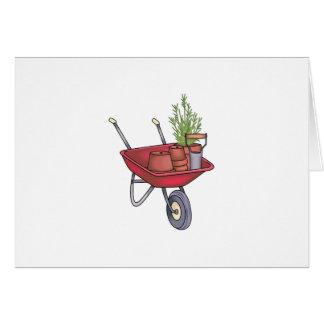 園芸手押し車 カード