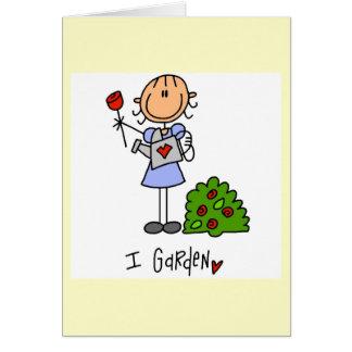 園芸棒の姿 カード