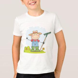 園芸男の子の耕作 Tシャツ