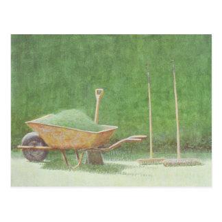園芸静物画1985年 ポストカード