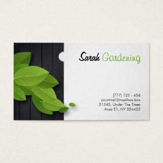 園芸、建築、大工仕事等カード 名刺