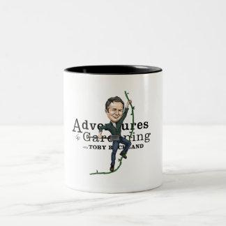 園芸w/Toby Bucklandのコーヒー・マグの冒険 ツートーンマグカップ