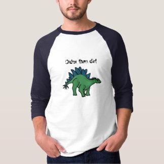 土のステゴサウルスのワイシャツよりAJおもしろいな古い Tシャツ