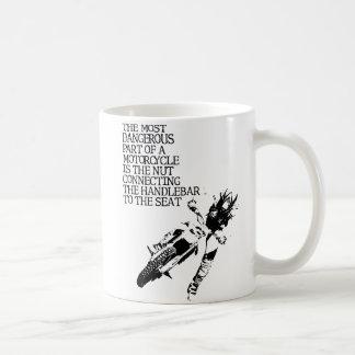 土のバイクのナットのモトクロスのおもしろマグカップのユーモア コーヒーマグカップ
