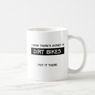 土のバイクのモトクロスのマグのお金 コーヒーマグカップ