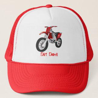 土のバイクの帽子 キャップ