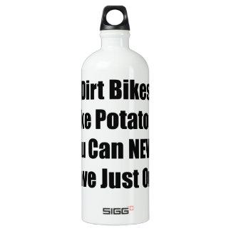 土のバイクはあなたによってHav決してできないポテトチップのようです ウォーターボトル
