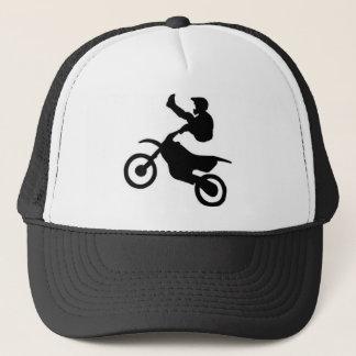 土のバイク キャップ